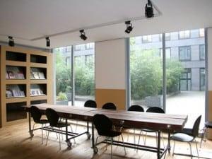 WordPress Cursus Amsterdam podium ruimte