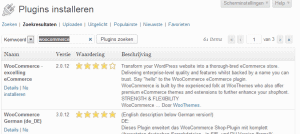 Woocommerce-plugin-installeren