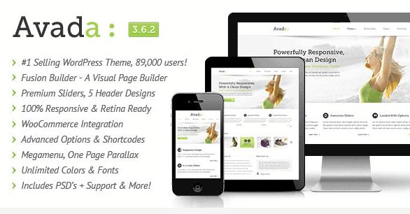 Beste WordPress theme van 2014 Avada