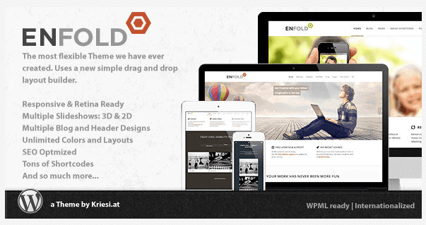 Beste WordPress theme van 2014 Enfold