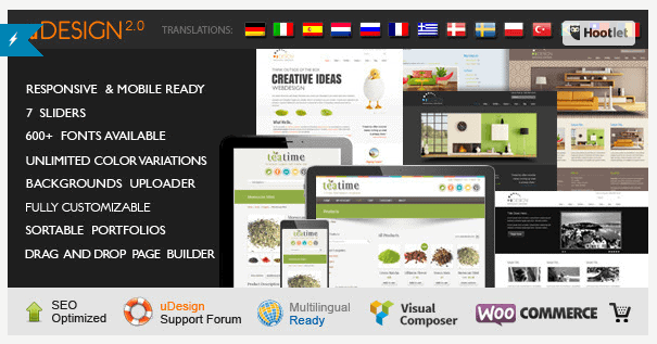 Beste WordPress theme van 2014 Udesign
