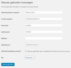 nieuwe-gebruiker-aanmaken-wordpress-wordpress inlognaam veranderen