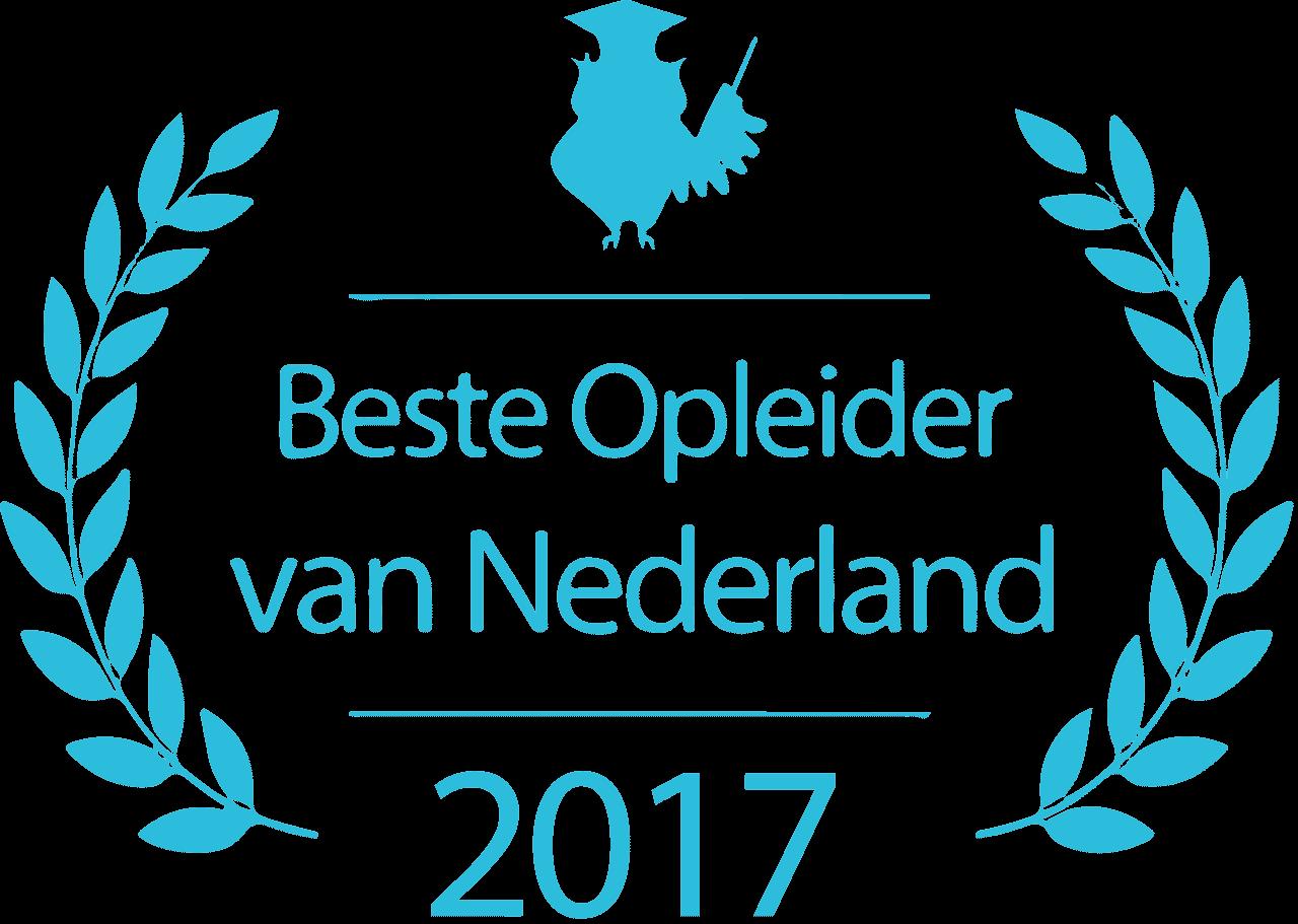 Beste Opleider Van Het Jaar 2017