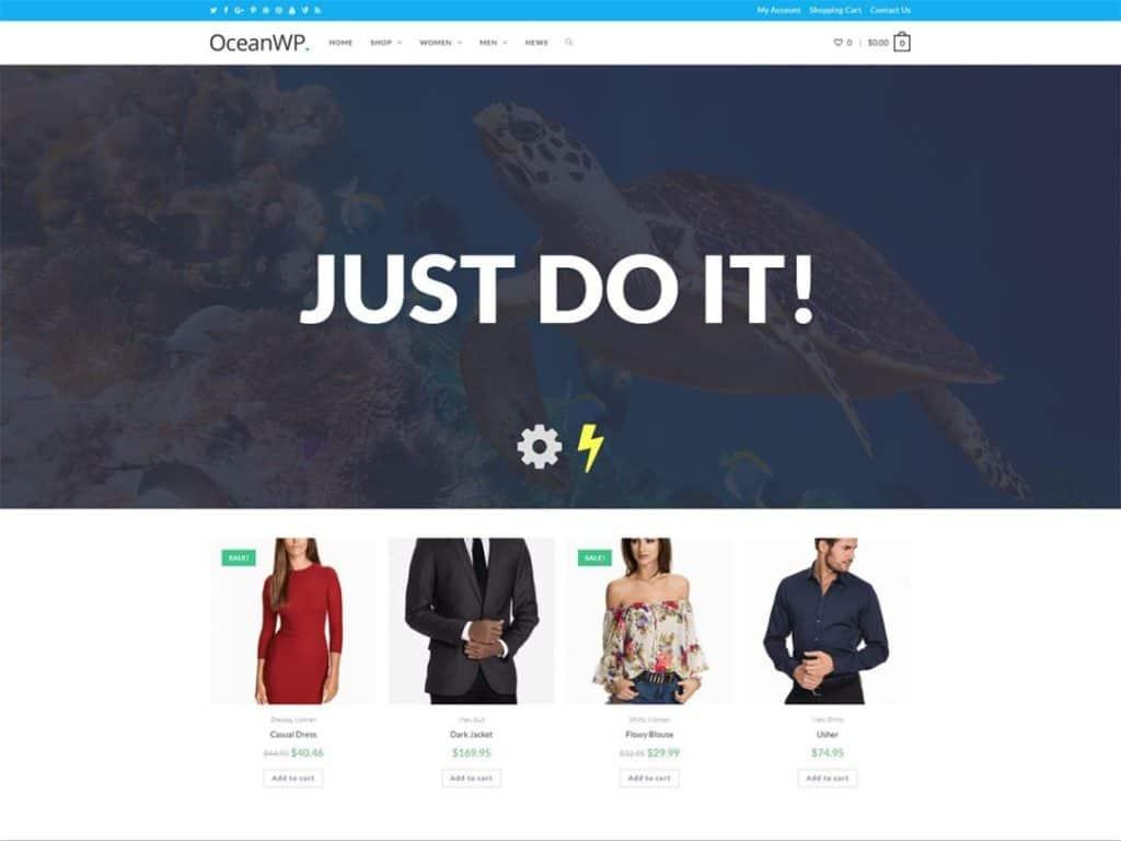 OceanWP - Beste WordPress themes betaald en gratis