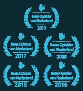 Vijfvoudig beste WordPress cursus opleider Nederland, dus ook Den Haag