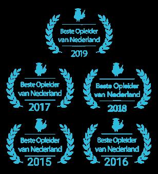 meervoudig winnaar beste opleider Nederland WordPress SEO Mailchimp